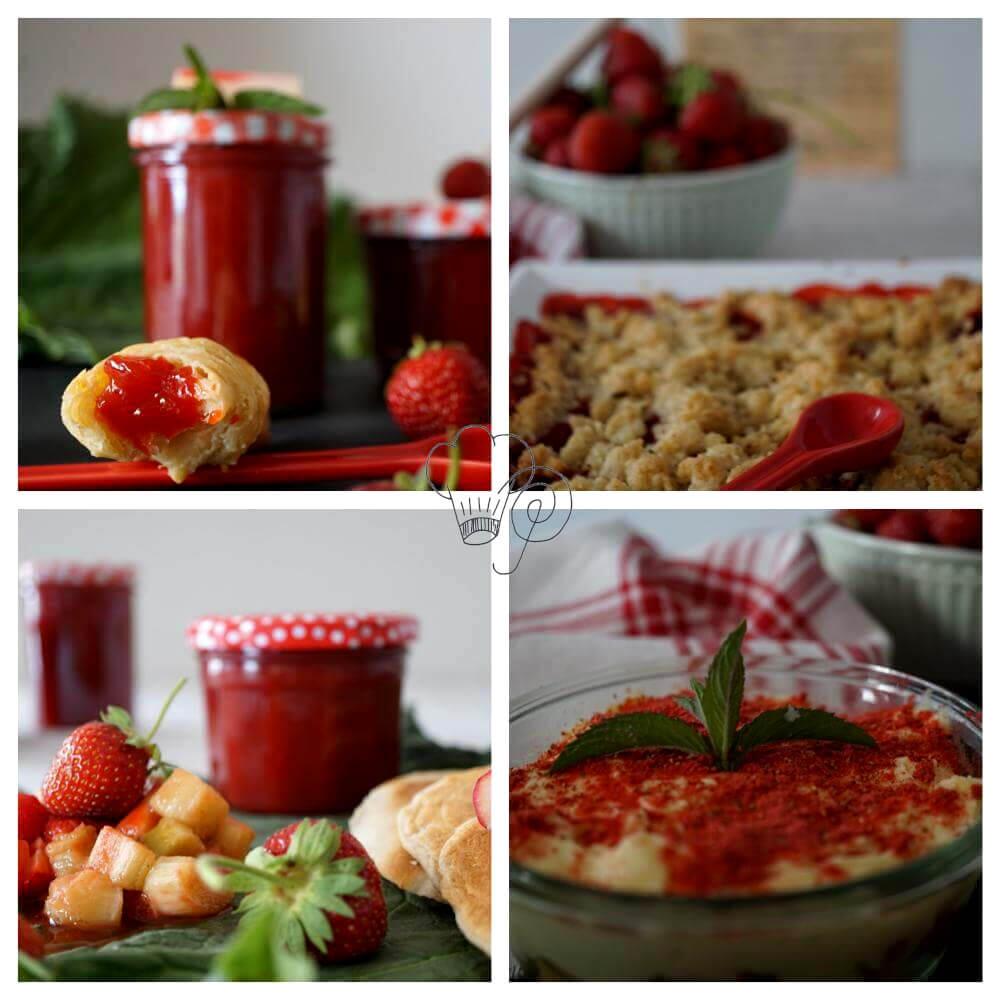 Erdbeer küsst Rhabarber