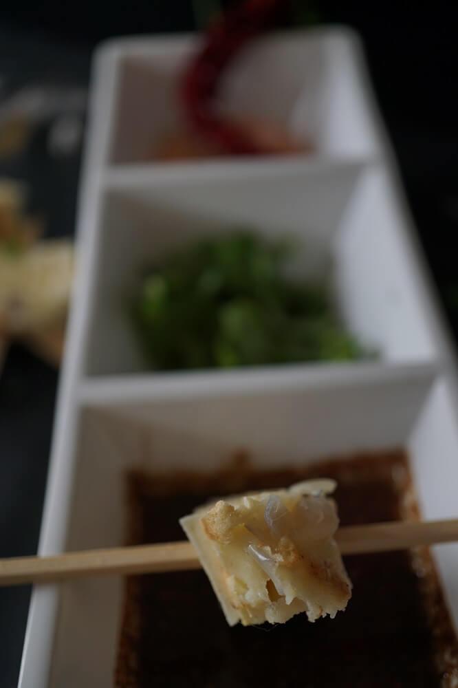 Schalottenpfannkuchen