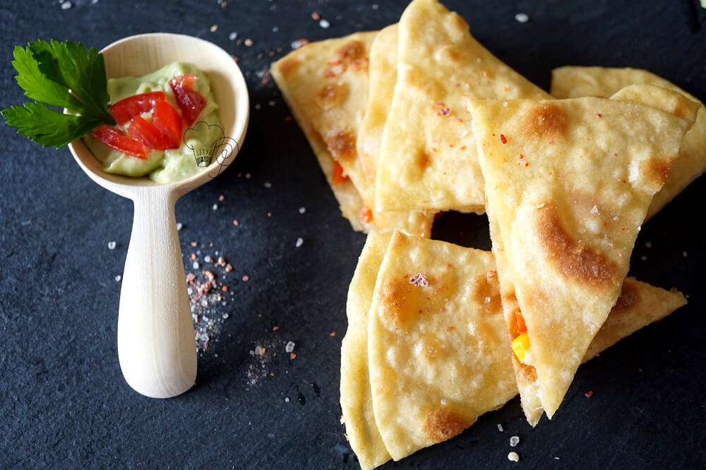 You are currently viewing Quesadillas – Halbzeitsnack Mexiko
