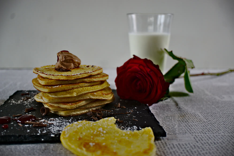 Read more about the article Pancakes für Verliebte – Frühstücksliebe