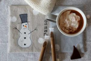 Heiße Schokolade – Schneemannsuppe