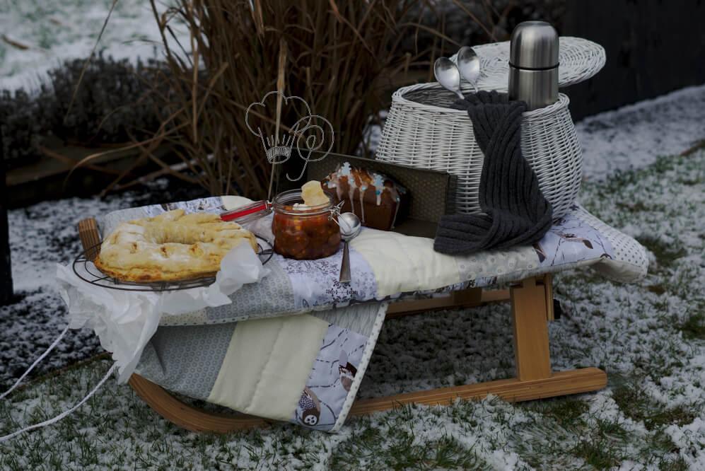 Read more about the article Winterpicknick – Flammkuchenbrot