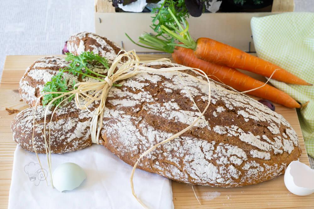 Karottenbrot – Auf Wild Bakers Art