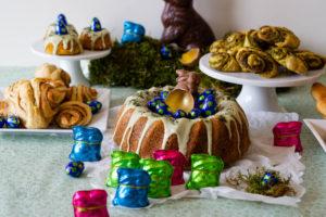 Read more about the article Karottenkuchen – Blogevent Osterbrunch