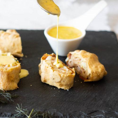 Spargelstrudel - Kochen mit Spargel
