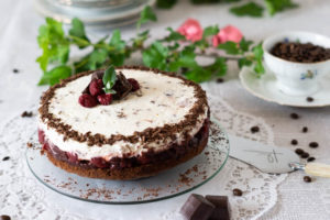 Zeit zum Kaffeeklatsch – Mon-Cheri-Torte