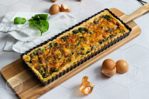 Read more about the article Spinatquiche – Grünes zu Ostern