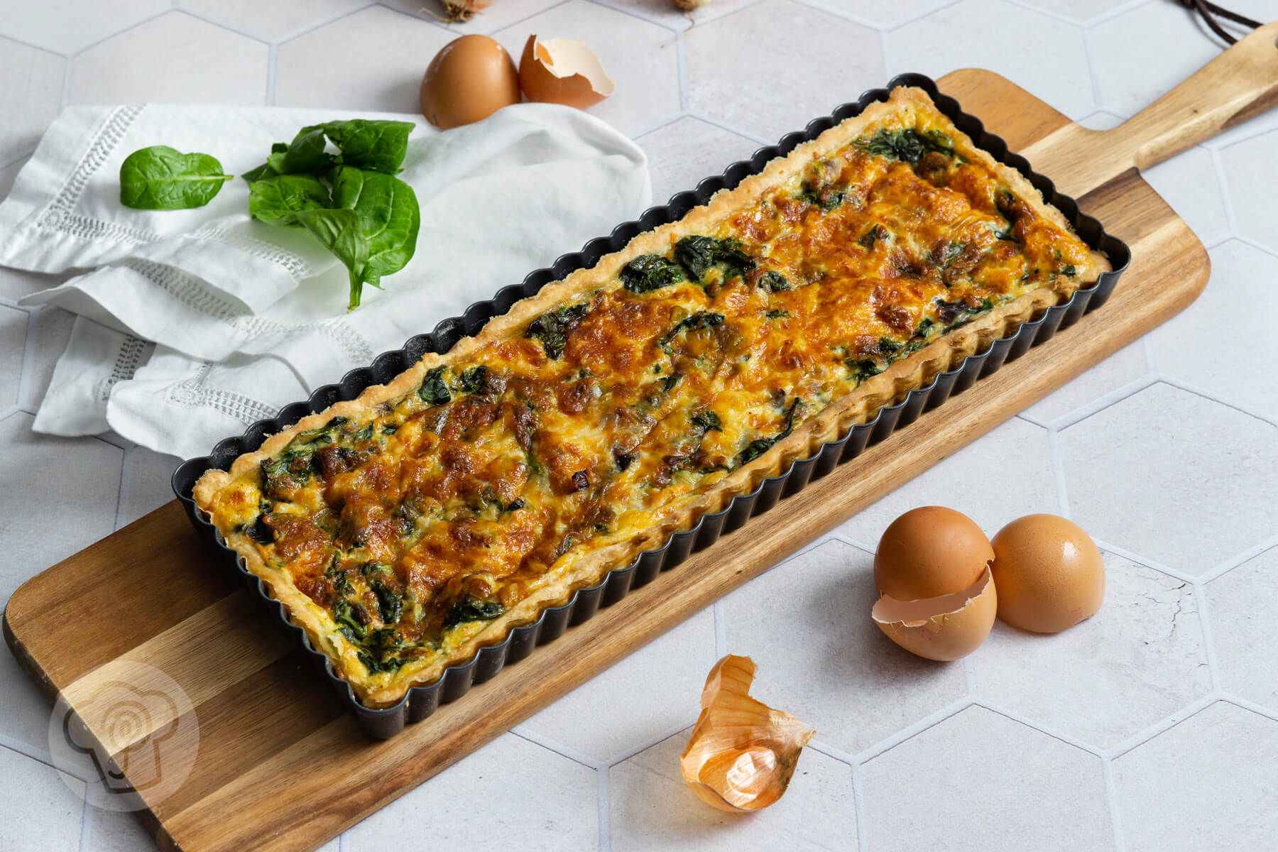 You are currently viewing Spinatquiche – Grünes zu Ostern