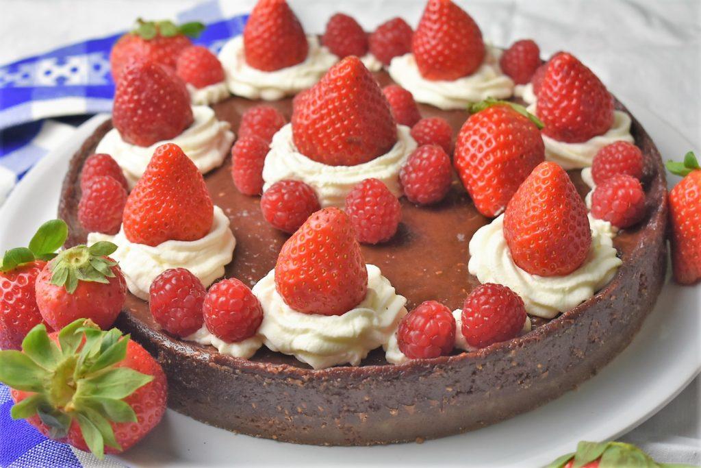 erdbeer himbeer kuchen doricias