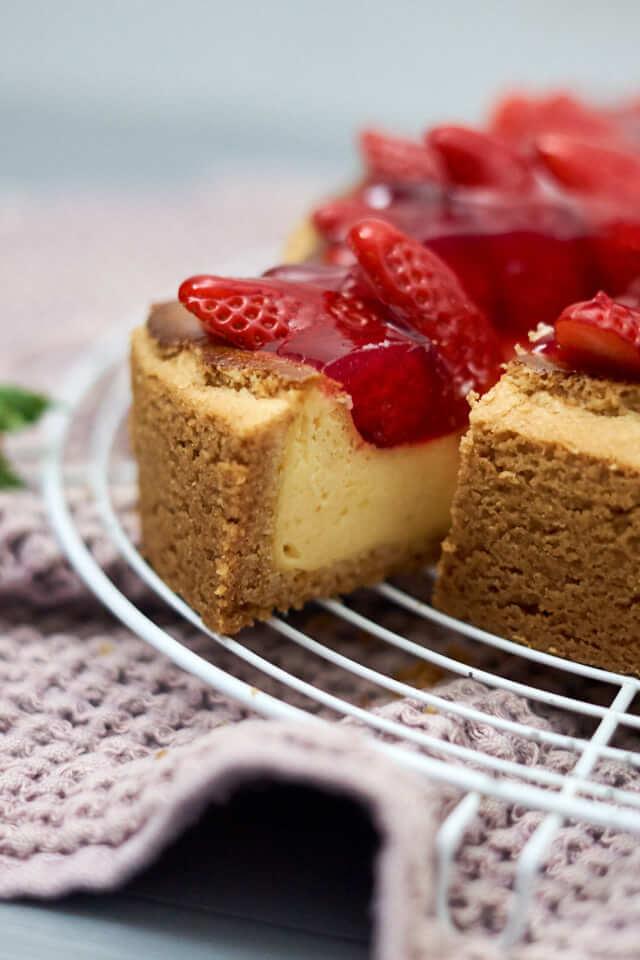 erdbeer kaesekuchen linals backhimmel