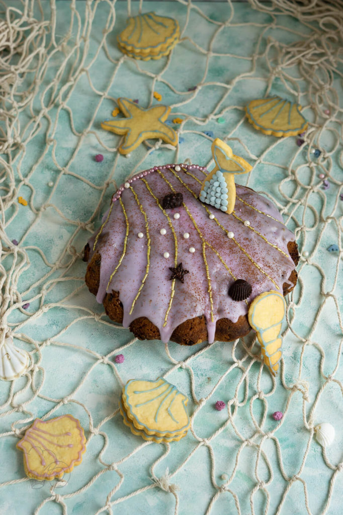 Meerjungfrau-Kuchen