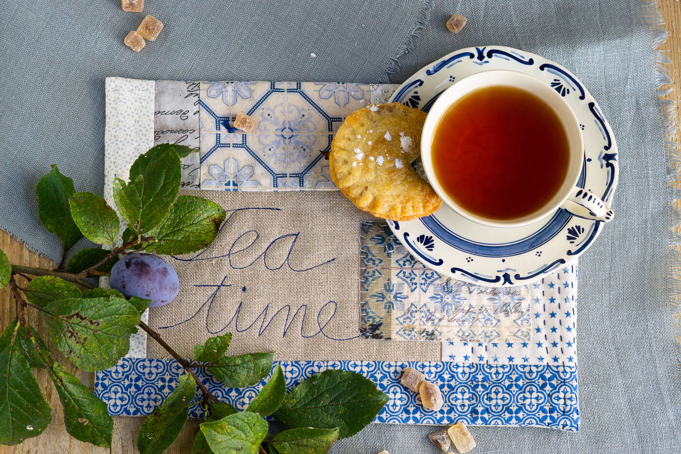 Read more about the article Tea Time – Pflaumentäschchen