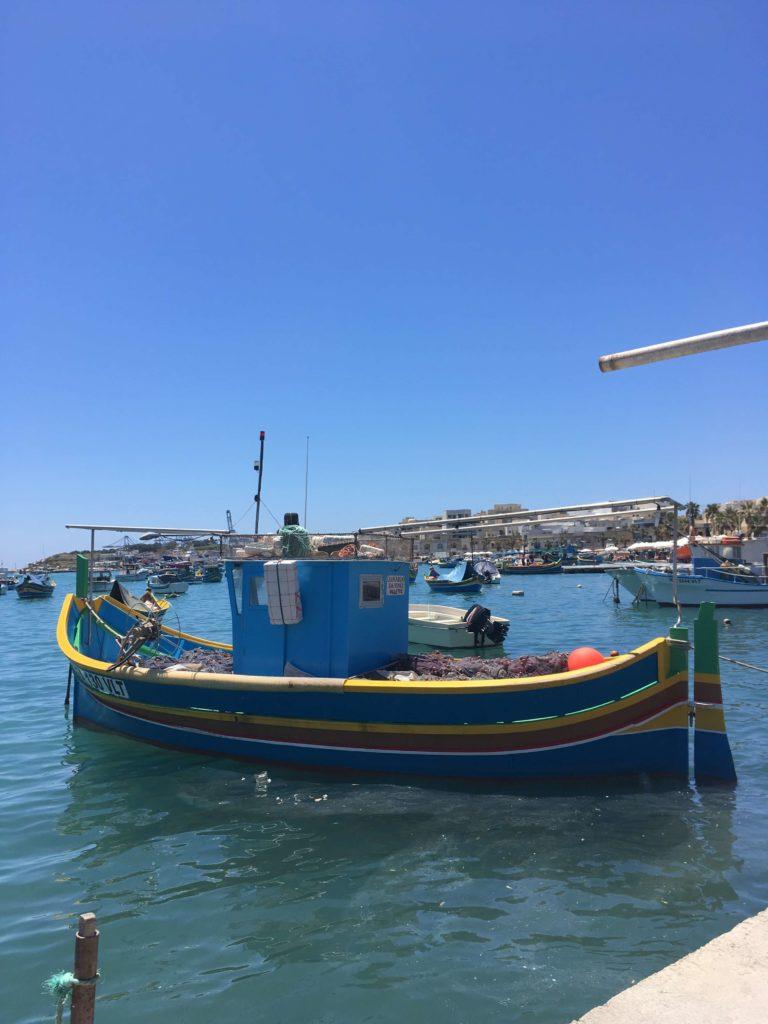 Fischerboot in Marsaxlokk