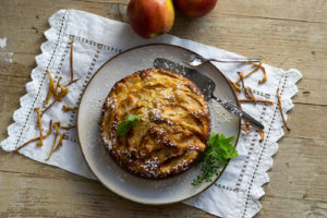 Apfelkuchen mit Kräutern – Apfelliebe