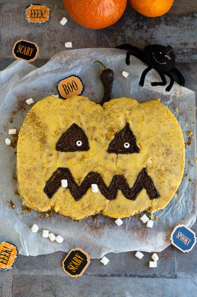 Kürbis Kuchen für Halloween