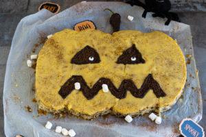 Read more about the article Halloween Kuchen für Kids
