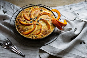 Kürbis Quiche – lets cook together