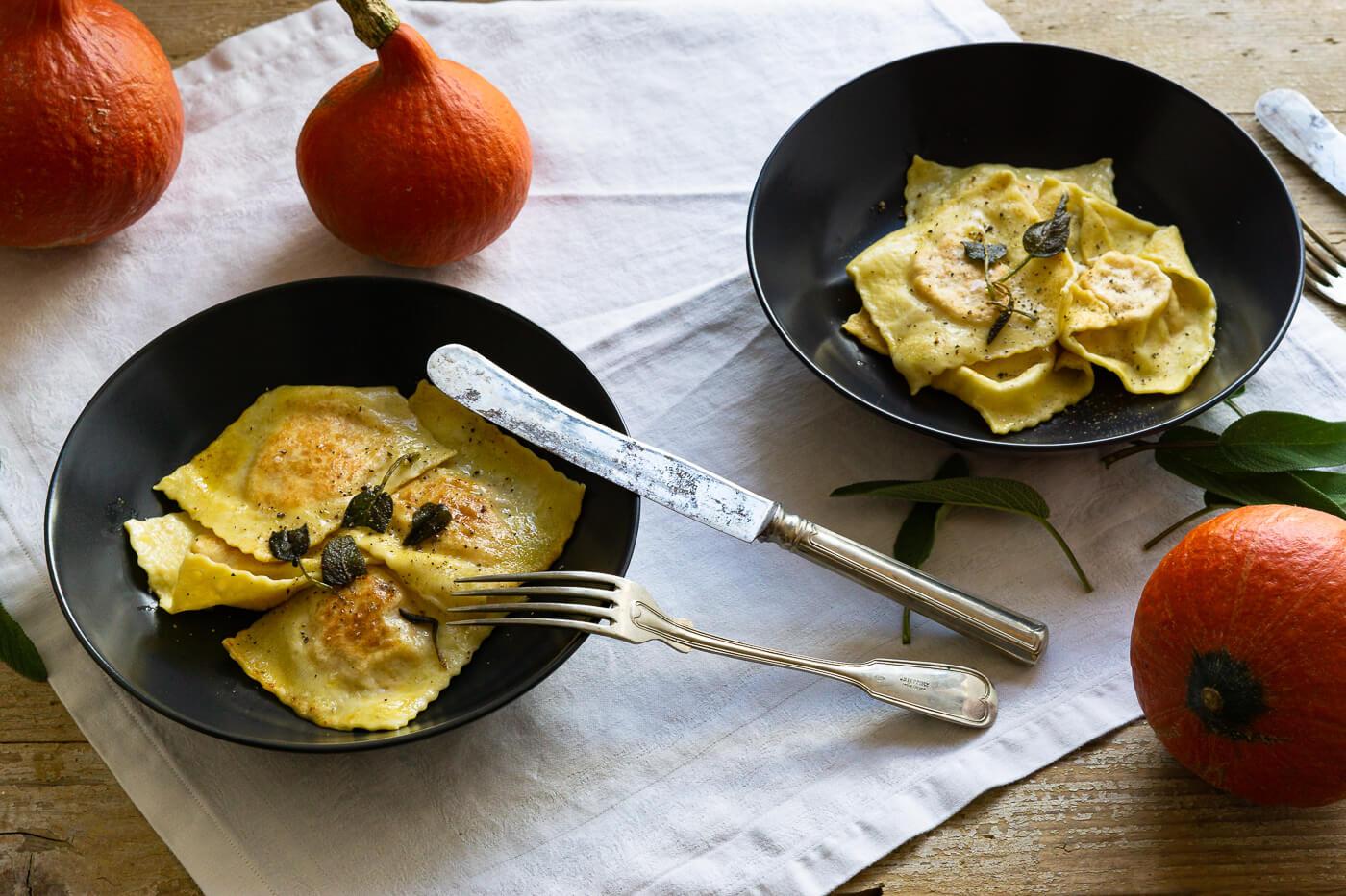 Kürbis Ravioli – lets cook together
