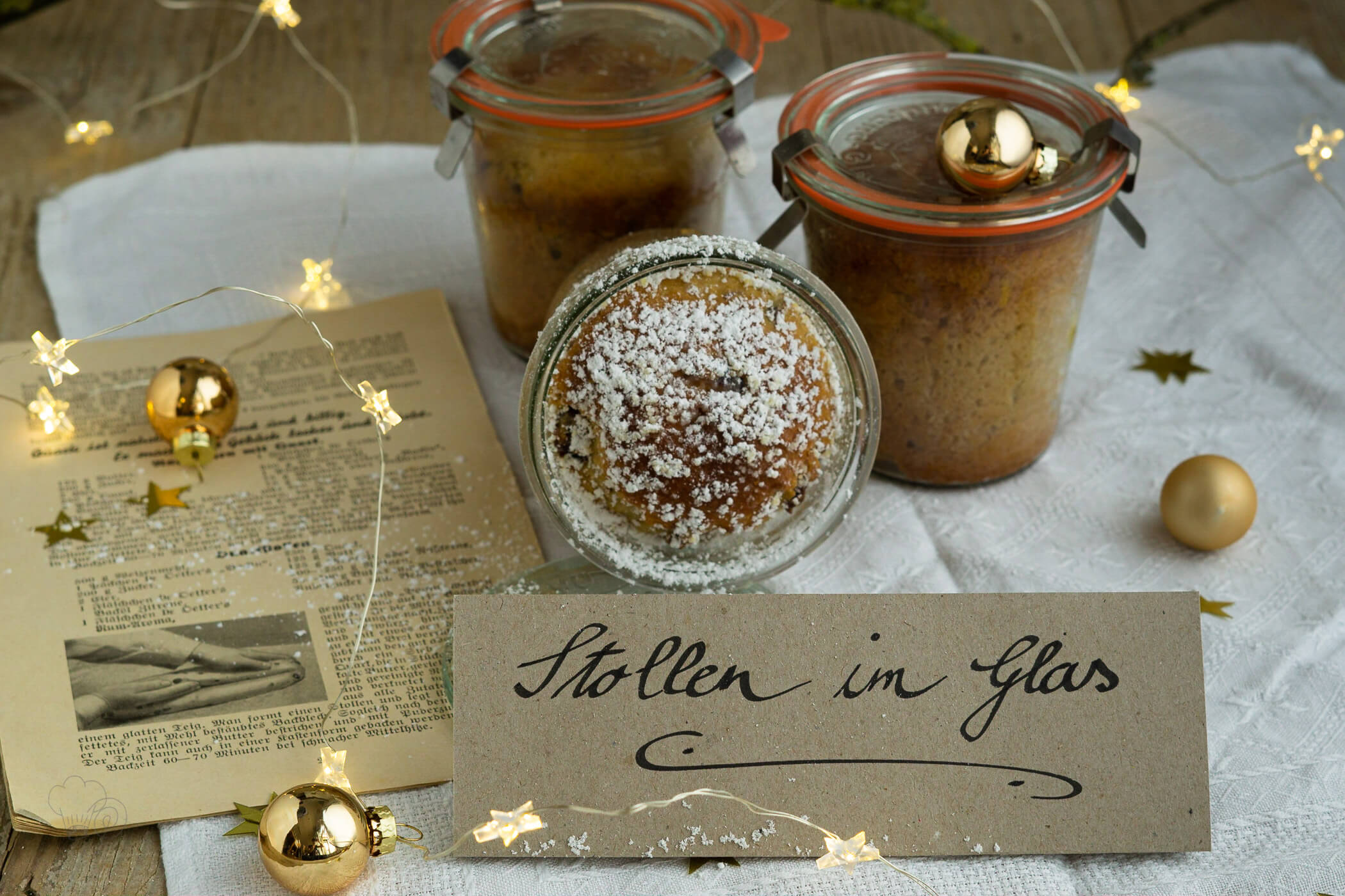 Stollen im Glas – All you need is