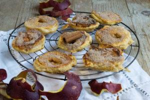 Apfelküchle mit Zimt und Zucker