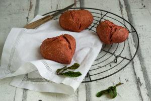 Rote Beete Brötchen – Saisonal isst besser