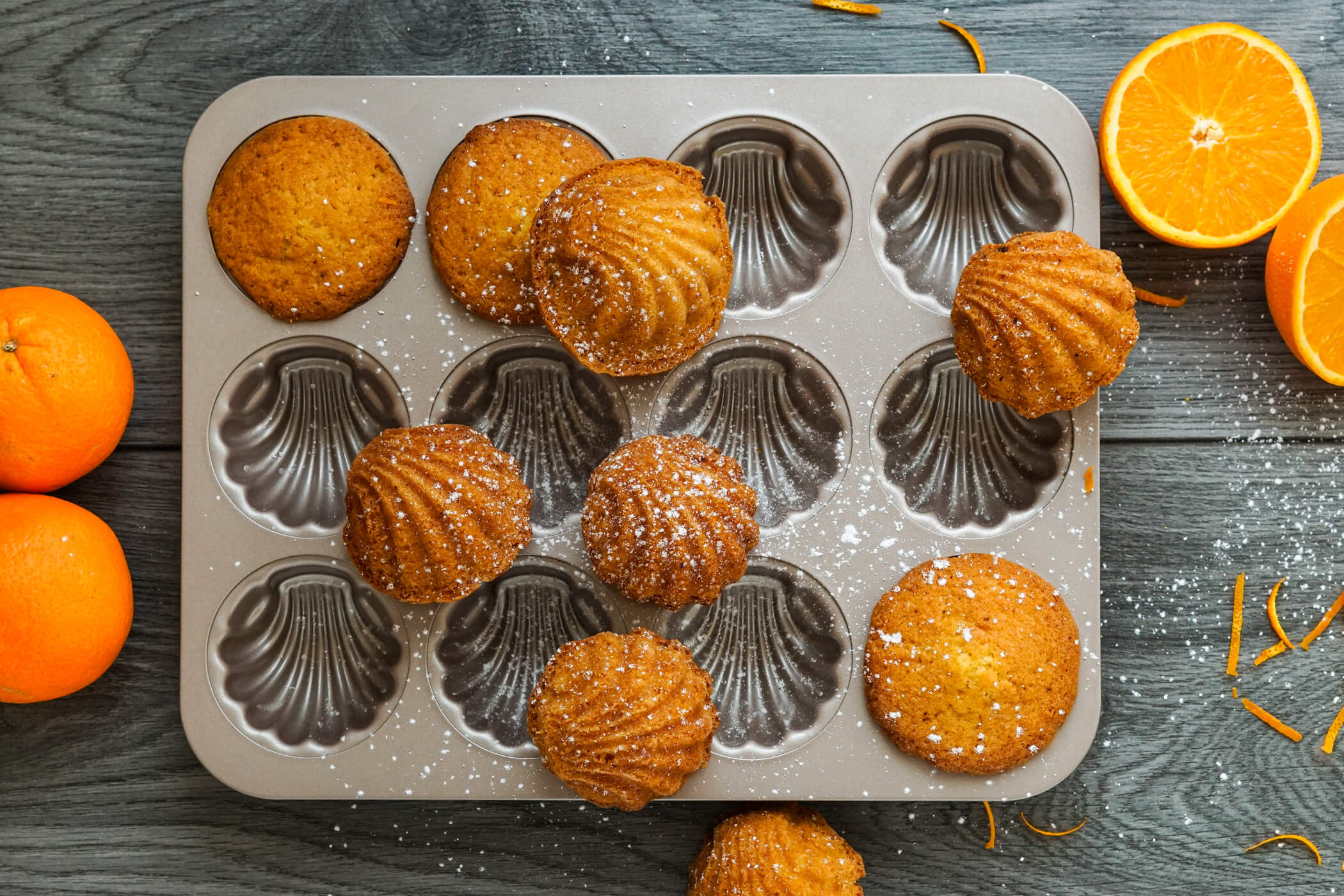 Read more about the article Madeleines mit Orange