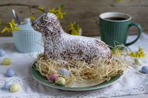 Read more about the article Gebackenes Osterlamm mit Schokolade
