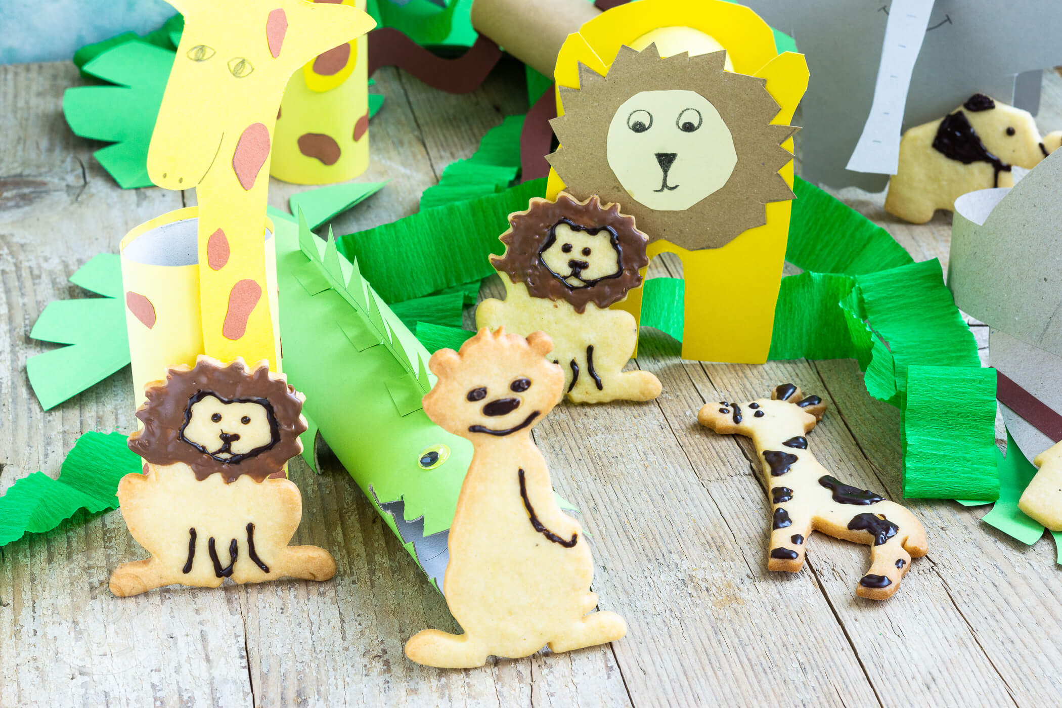 Safari Geburtstag mit Freebooks