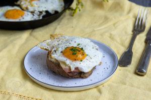 Croque Madame – Französisches Sandwich