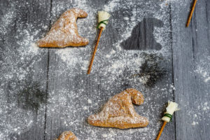 Read more about the article Dinkelbrötchen in Hexenhut Form