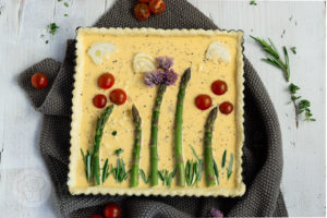 Read more about the article Vegetarische Spargeltarte