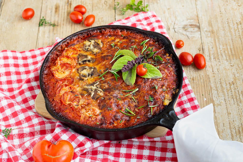 Read more about the article Einfache Pfannenpizza