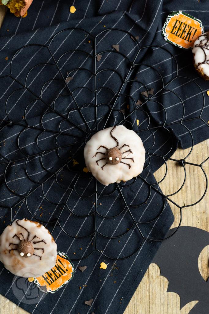 Kürbis Muffins für Halloween