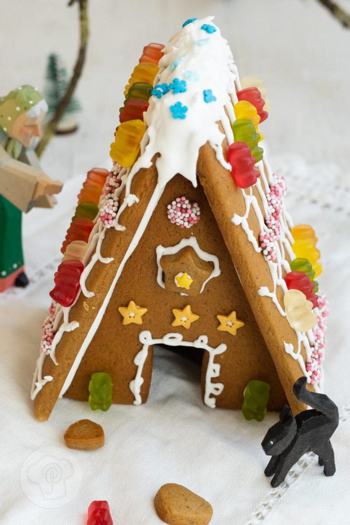 Geschenke aus der Küche: Lebkuchenhaus Bausatz