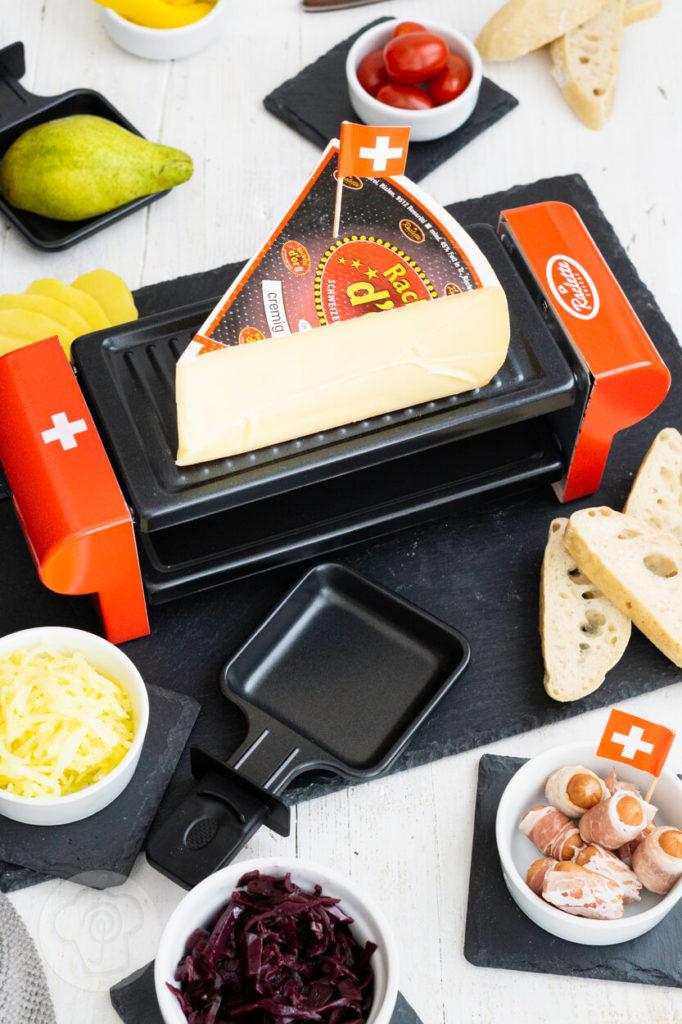 Raclette mit Raclette suisse