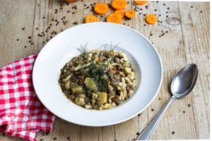 Read more about the article Vegetarischer Linseneintopf