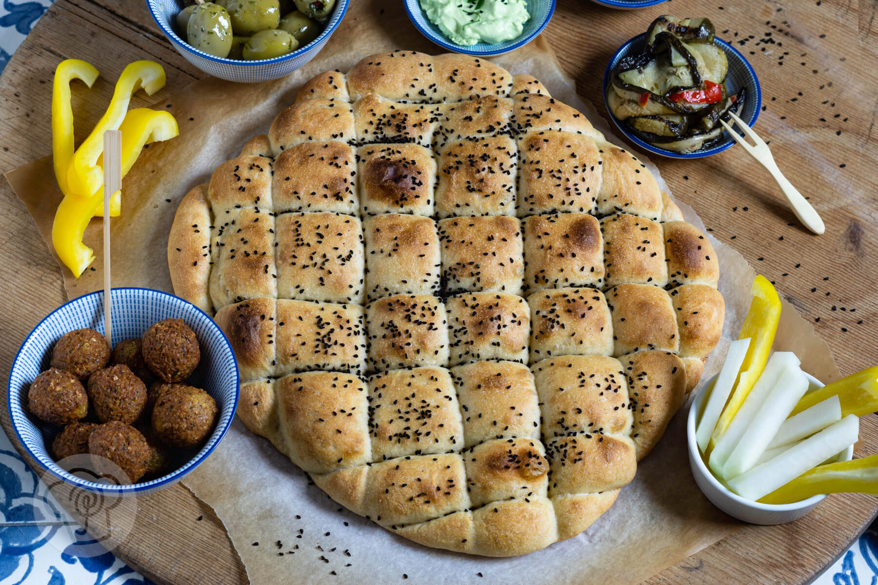 Read more about the article Einfaches Fladenbrot zur Mezze