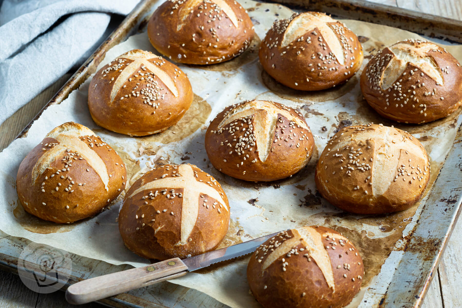 Read more about the article Dinkellaugenbrötchen-Synchronbacken #34