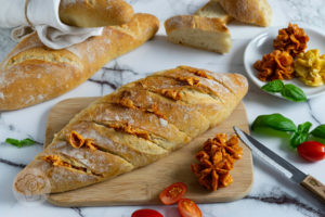 Read more about the article Dinkel Baguette mit Grillbutter