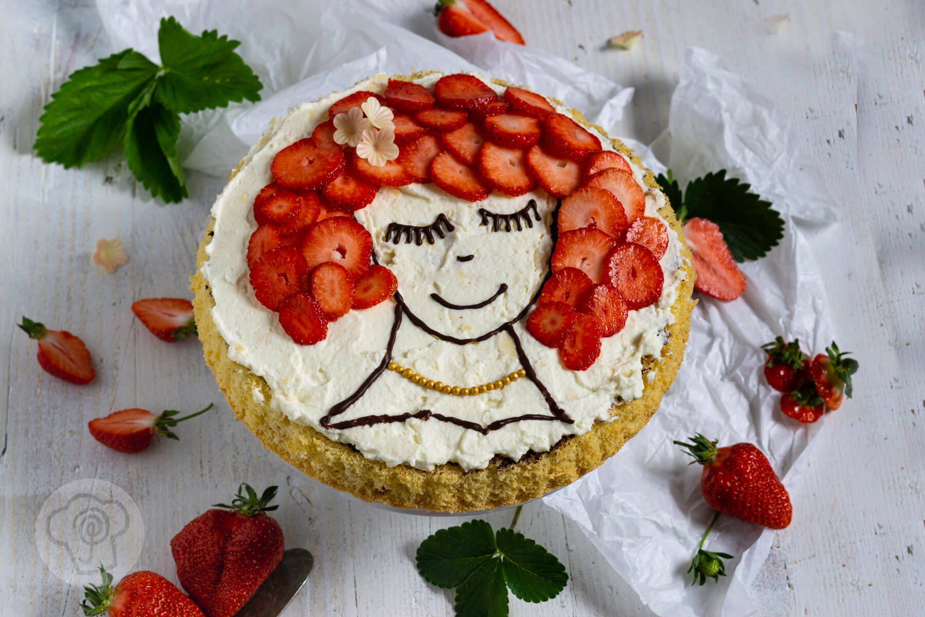 Read more about the article Torte mit Gesicht – Facecake