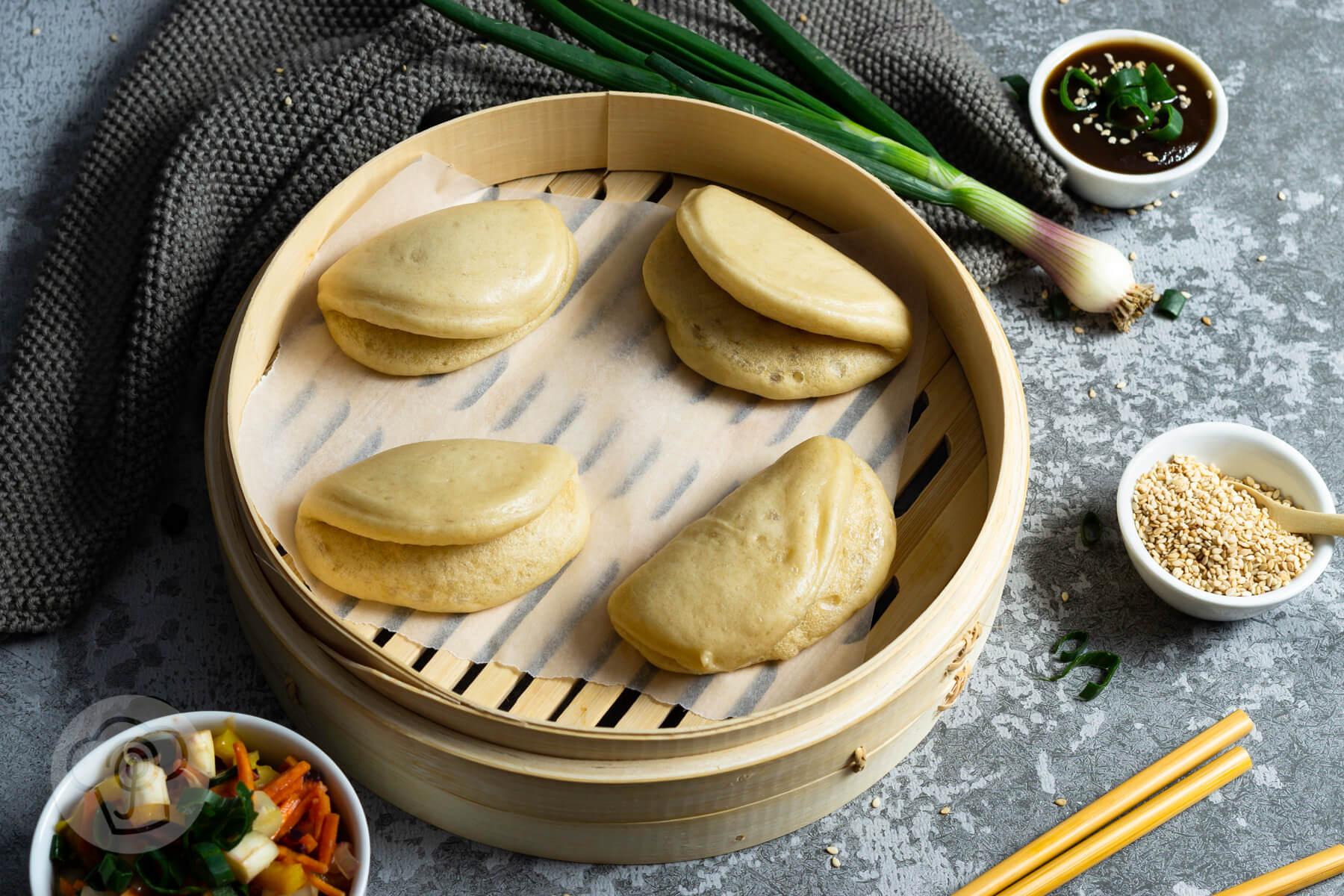 Gua Bao Burger – vegetarisch