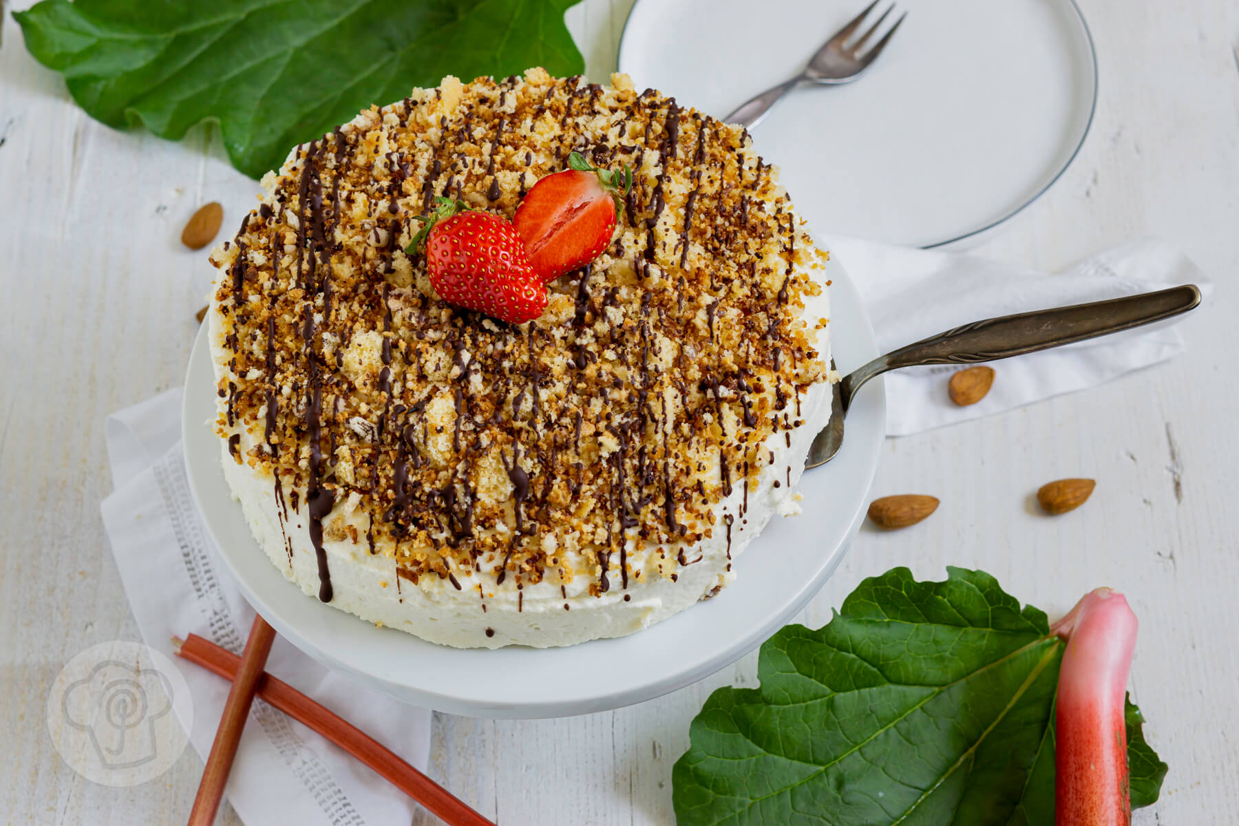 You are currently viewing Rhabarbertorte mit Streuseln