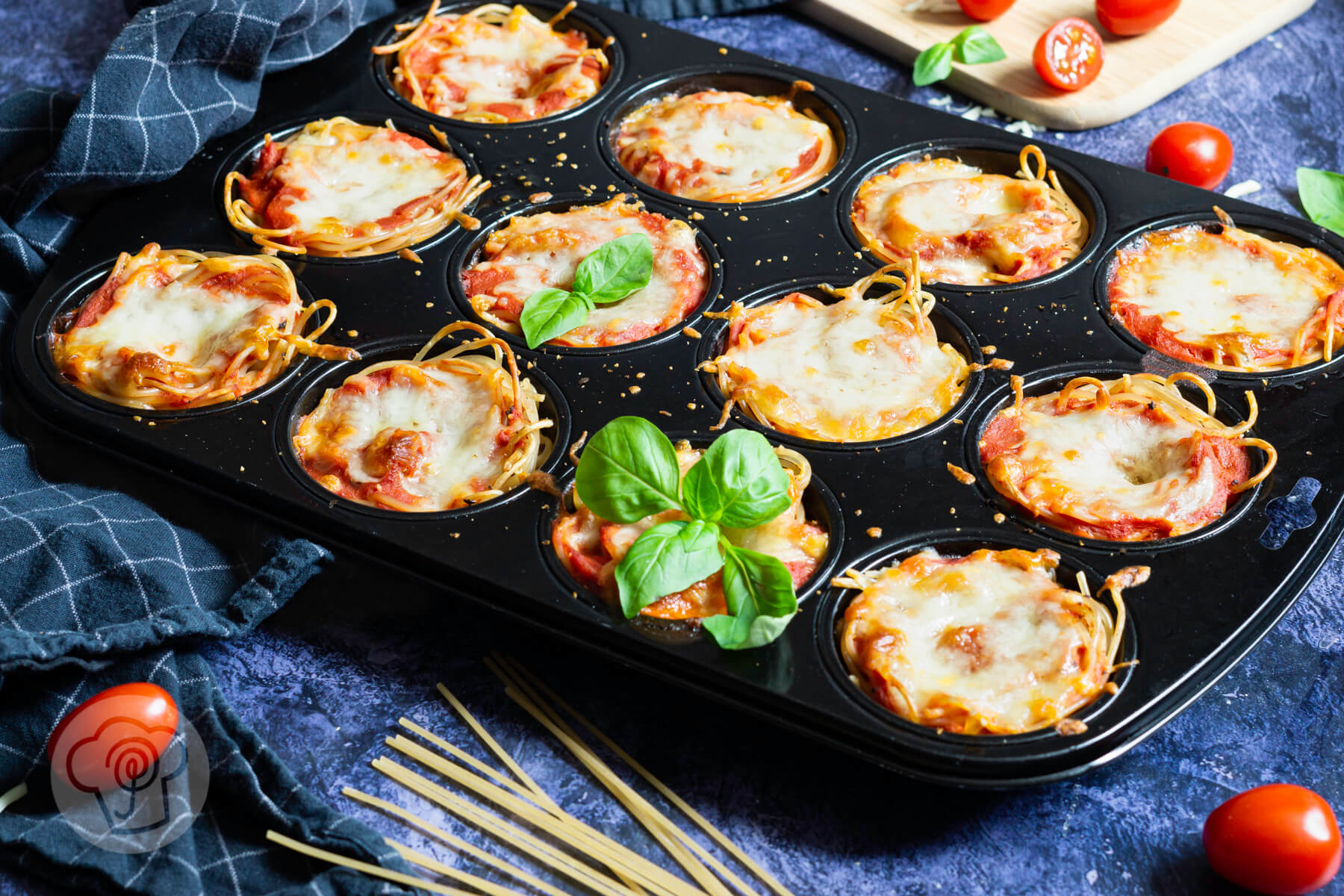 Read more about the article Einfache Spaghetti Muffins