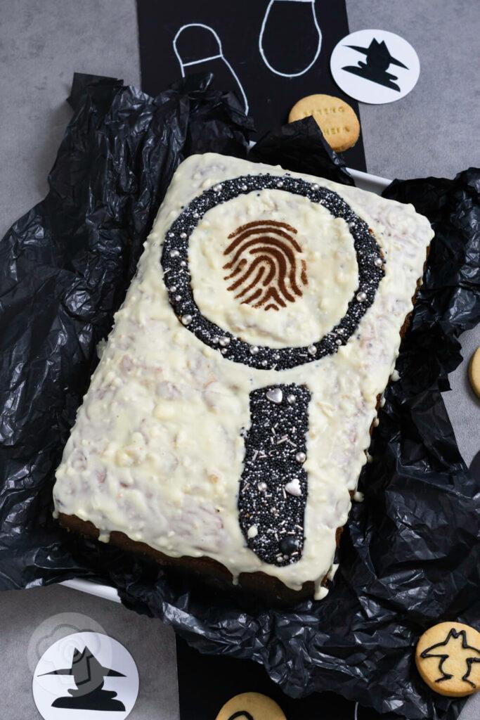 Kuchen Detektiv Kindergeburtstag