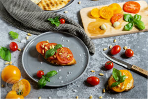 Read more about the article Schnelles Röstbrot mit Tomaten