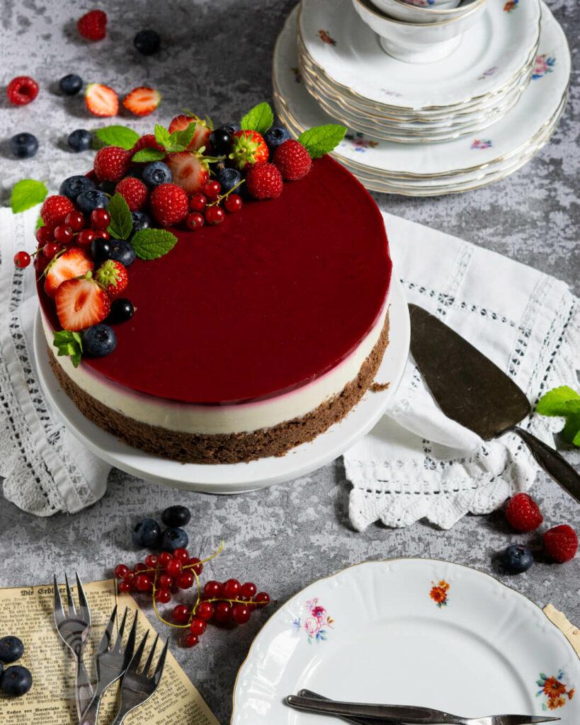 panna cotta torte 7