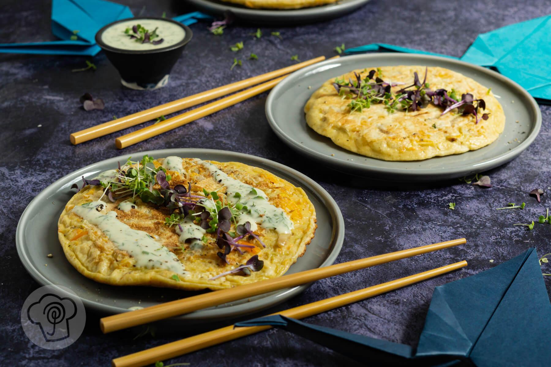 Read more about the article Japanische Pfannkuchen – Okonomiyaki