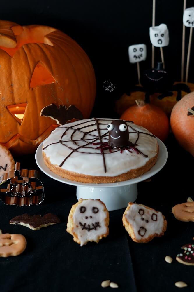 Halloweenkuchen