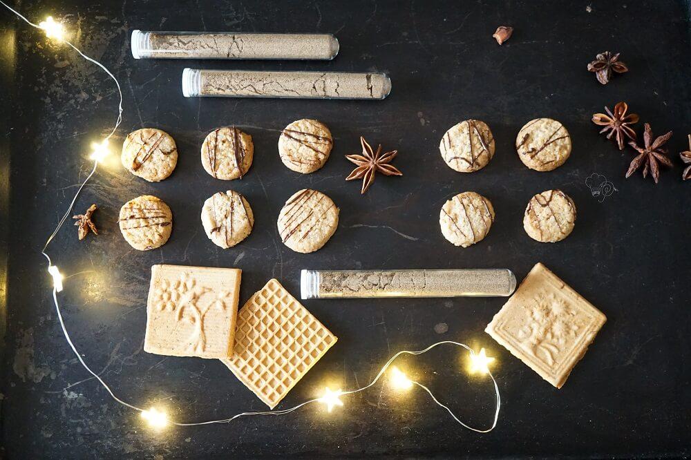 kunterbunter weihnachtsteller
