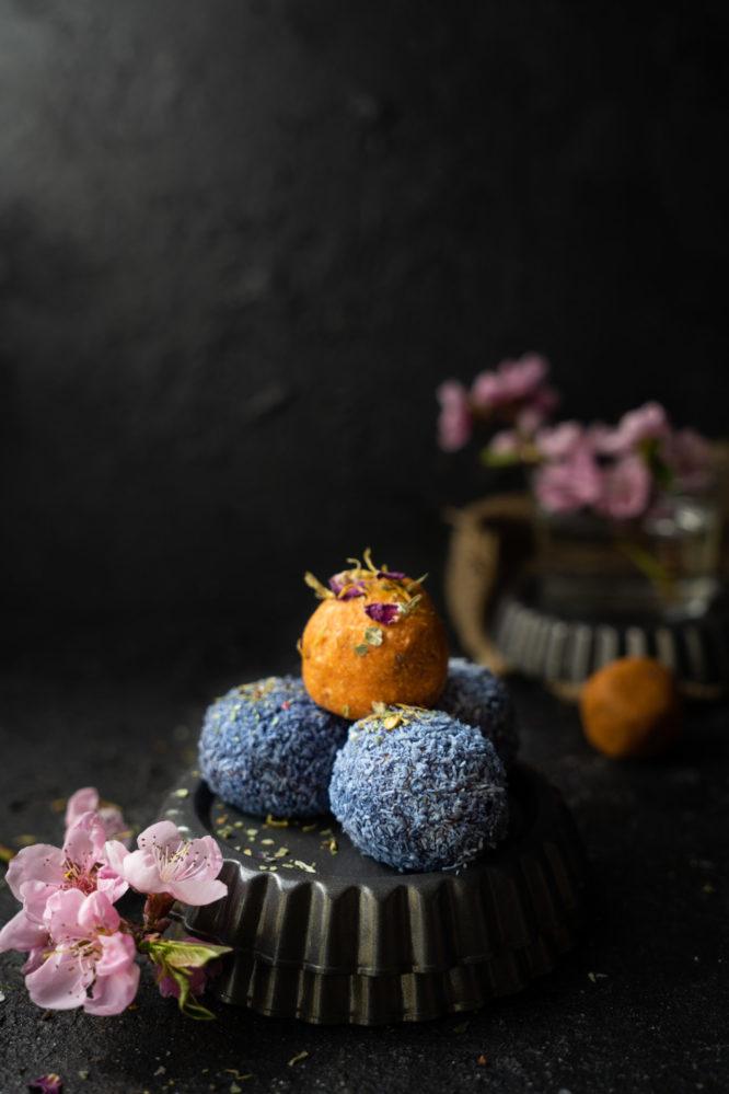 Karotten-Enery-Bällchen